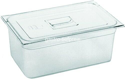 GN-Behälter/Deckel Kunststoff